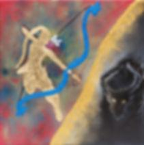 Sita, gold leaf, Ravana, Warrior, Fighter, Archer