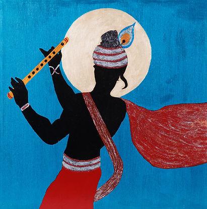 Shyam painting