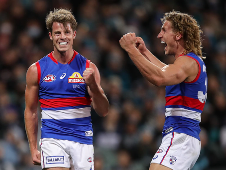 AFL Round 23 - Dogs v Power