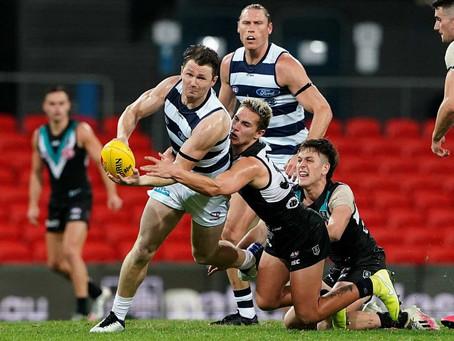 AFL Finals - Port Adelaide v Geelong