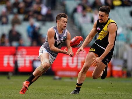 AFL Round 4 - Port Adelaide v Richmond