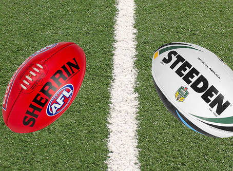 AFL R1 / NRL R2 - Thurs