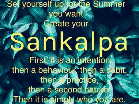 Sankalpa for Summer