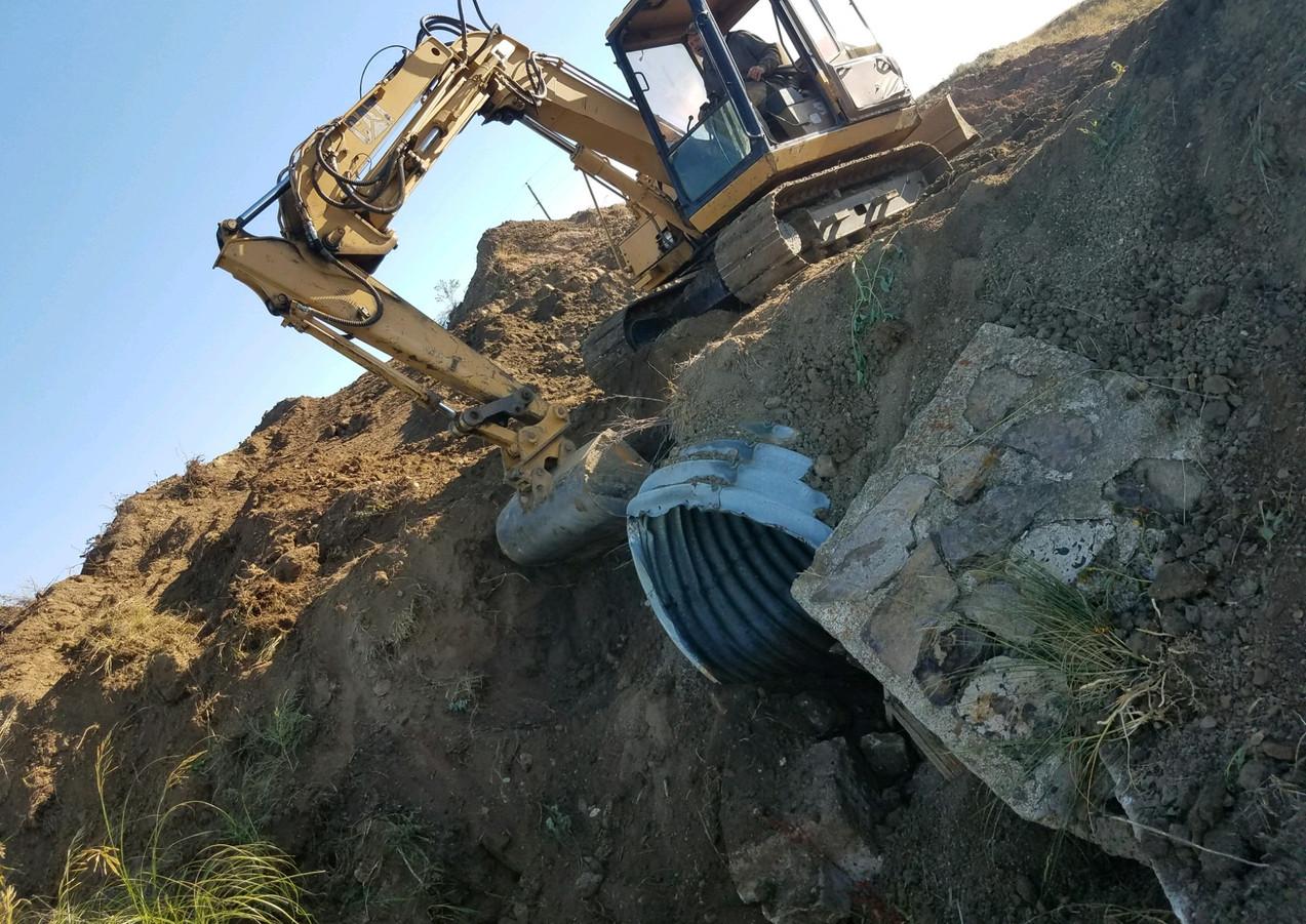 S-322 Culvert Excavation
