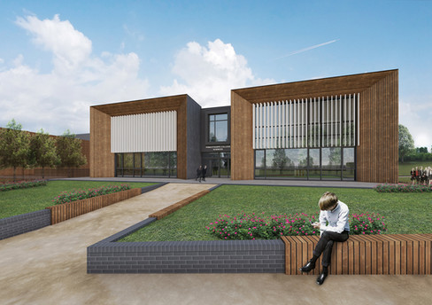 AT Architects Princethorpe Science Block