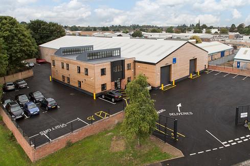 QPAC Warehouse Refurbishment