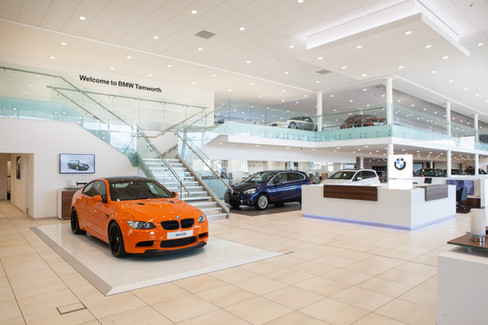 Sytner BMW Showroom Tamworth