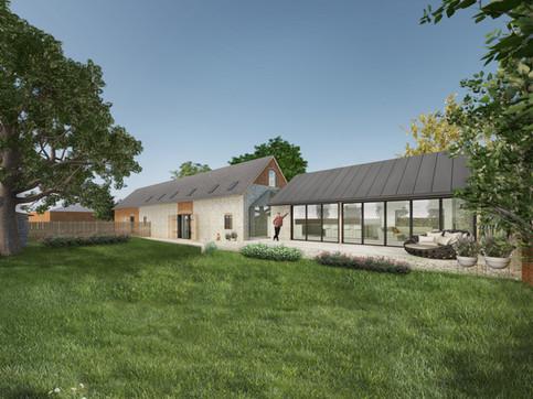 White Hall Farm Barn Conversion