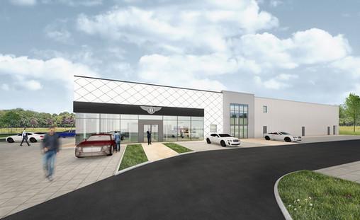 Bentley New Showroom