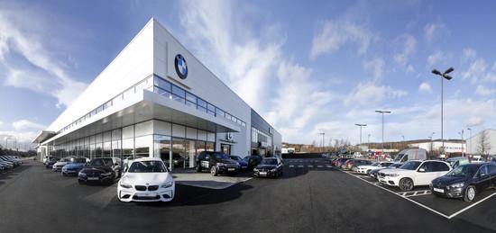 Sytner BMW and MINI Showroom Sheffield
