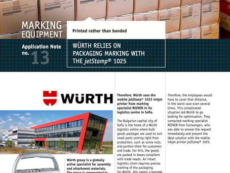 Würth - Sofia achieves its coding optimisation and resources saving goals with jetStamp® 1025
