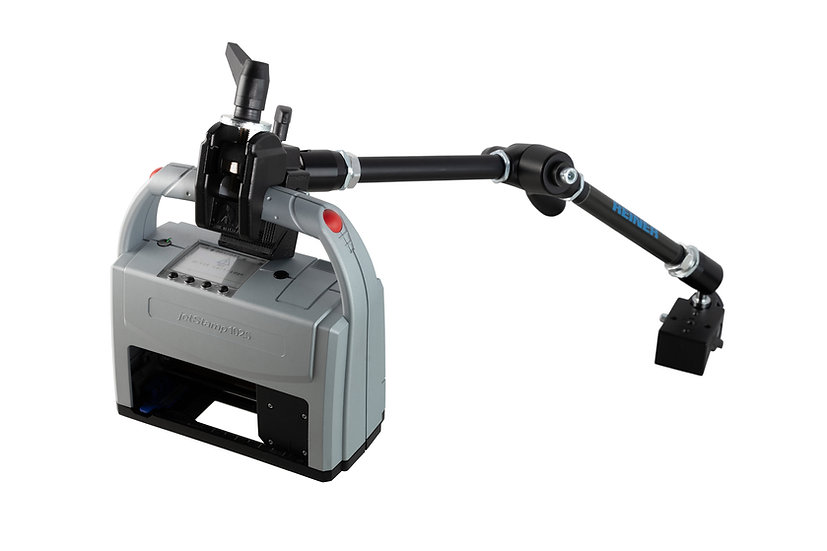 Convenient swivel arm for the ideal printing position