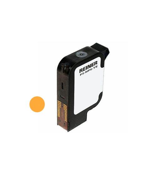 REINER P5-MP6-YE касета с жълто мастило за метал и пластмаса