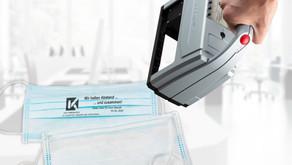 Индивидуално маркиране на защитни маски с мобилните  маркиращи принтери jetStamp® !