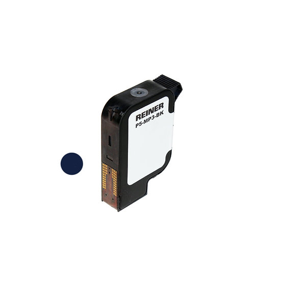 REINER P5-MP3-BK Black Ink Cartridge for metal & plastics