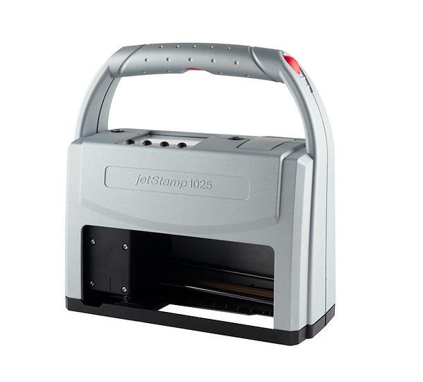 jetStamp® 1025 Mobile, expiry date and barcode marking, inkjet printer