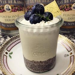 original vegetable soybean milk yogurt & chia seeds