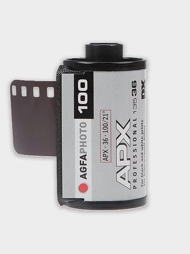 Agfa APX 100 sort/hvid