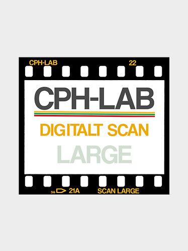 Digitale billeder - kun scan 35mm