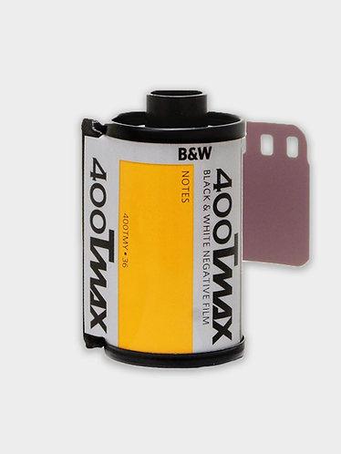 Kodak TMAX 400 sort/hvid