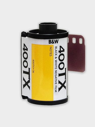 Kodak Tri-X 400 sort/hvid