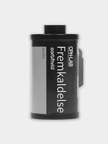 Sort/Hvid 35mm fremkaldelse
