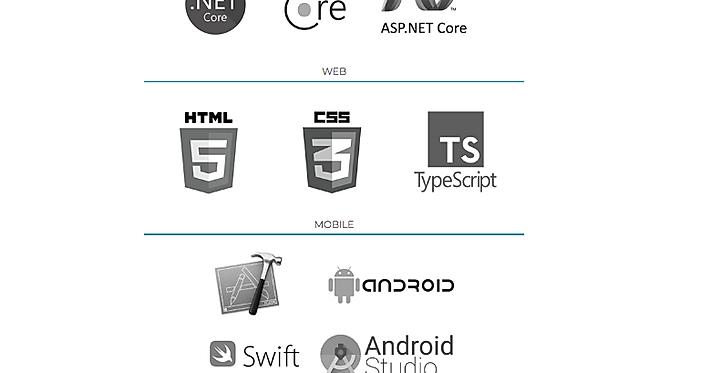 Technologies Used | Microsoft | Web| Mobile | Language