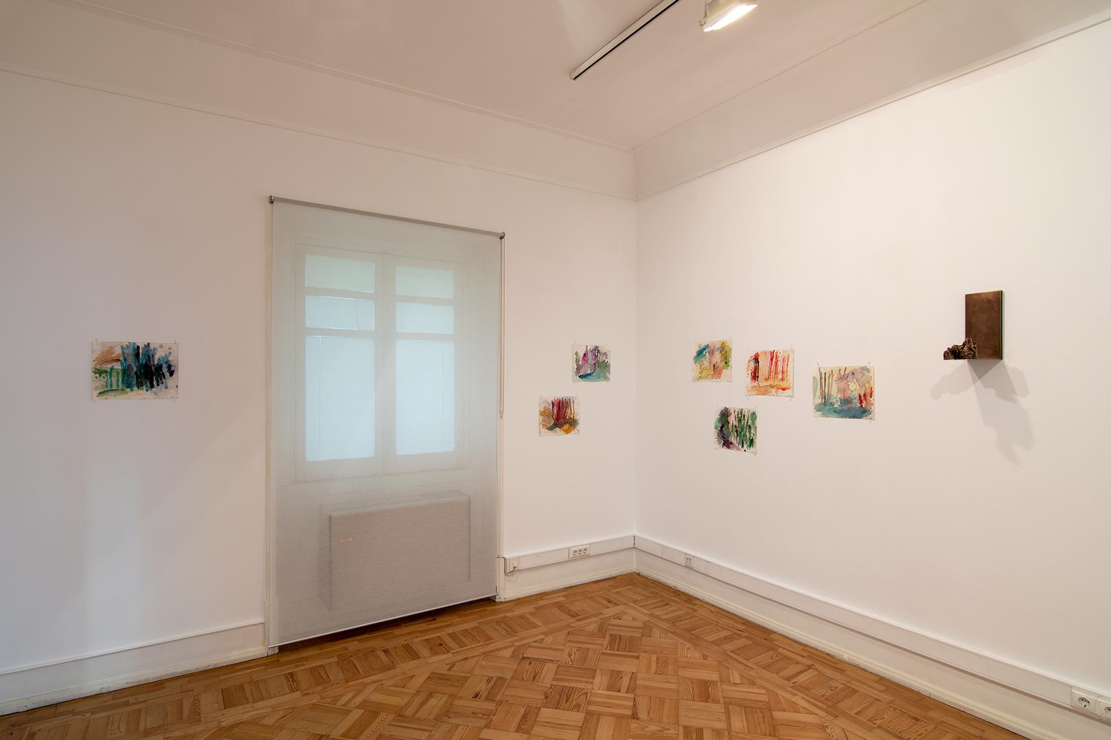 Vista da sala com Paulo Brighenti e Cristina Ataíde