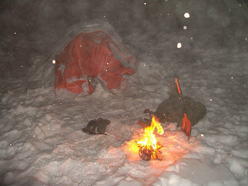 Survie extrème neige et grand froid