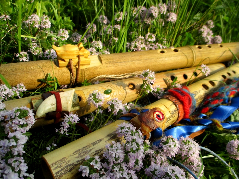 Flûtes ameriendienne cocréation BOW