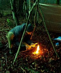 Bivouac; randonnée; survie; stage; formation; feu; pluie; nuit; technique; tuto; jura; franche conte; ain