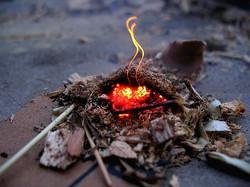 Naissance du feu