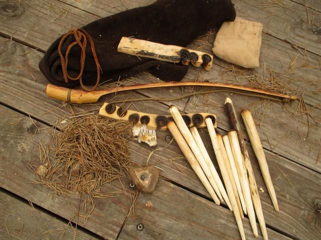 Kit de feu par friction avec archet