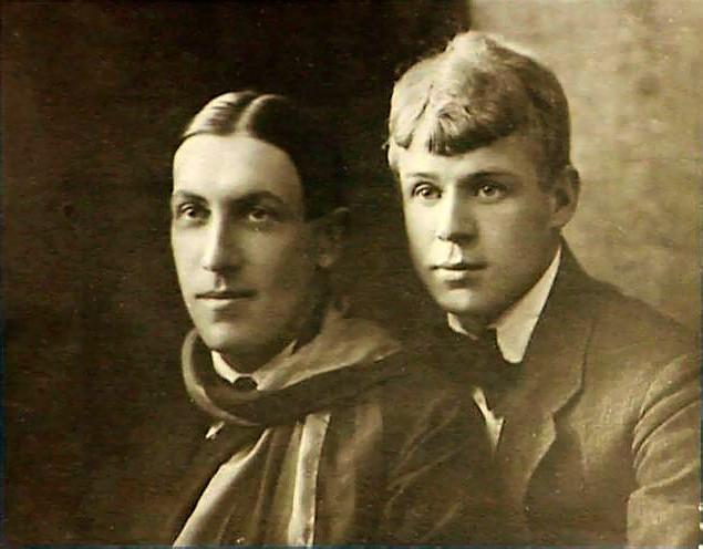 Мариенгоф и Есенин