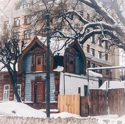 Архитектура деревянных жилых домов г. Рязани XIX - начала XX вв. Часть 3