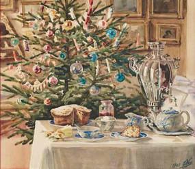 Рождественские десерты и выпечка губернской Рязани