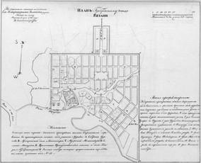 Планы городов Рязанского Наместничества