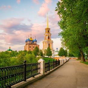 Колокольня Рязанского кремля