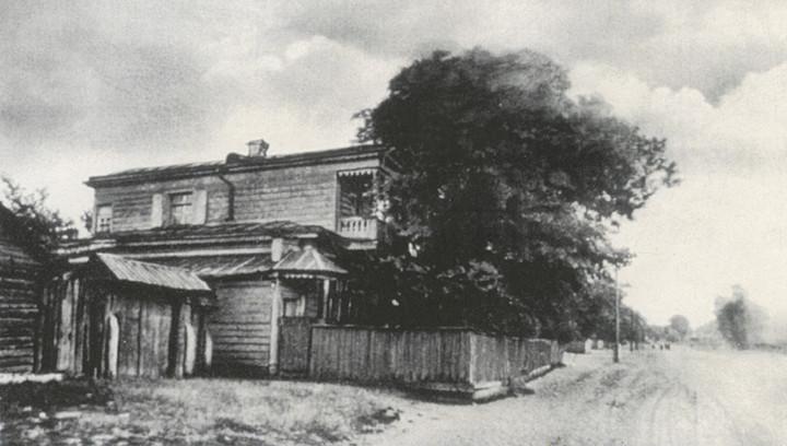 Дом Пожалостина в Солотче, где жил Паустовский