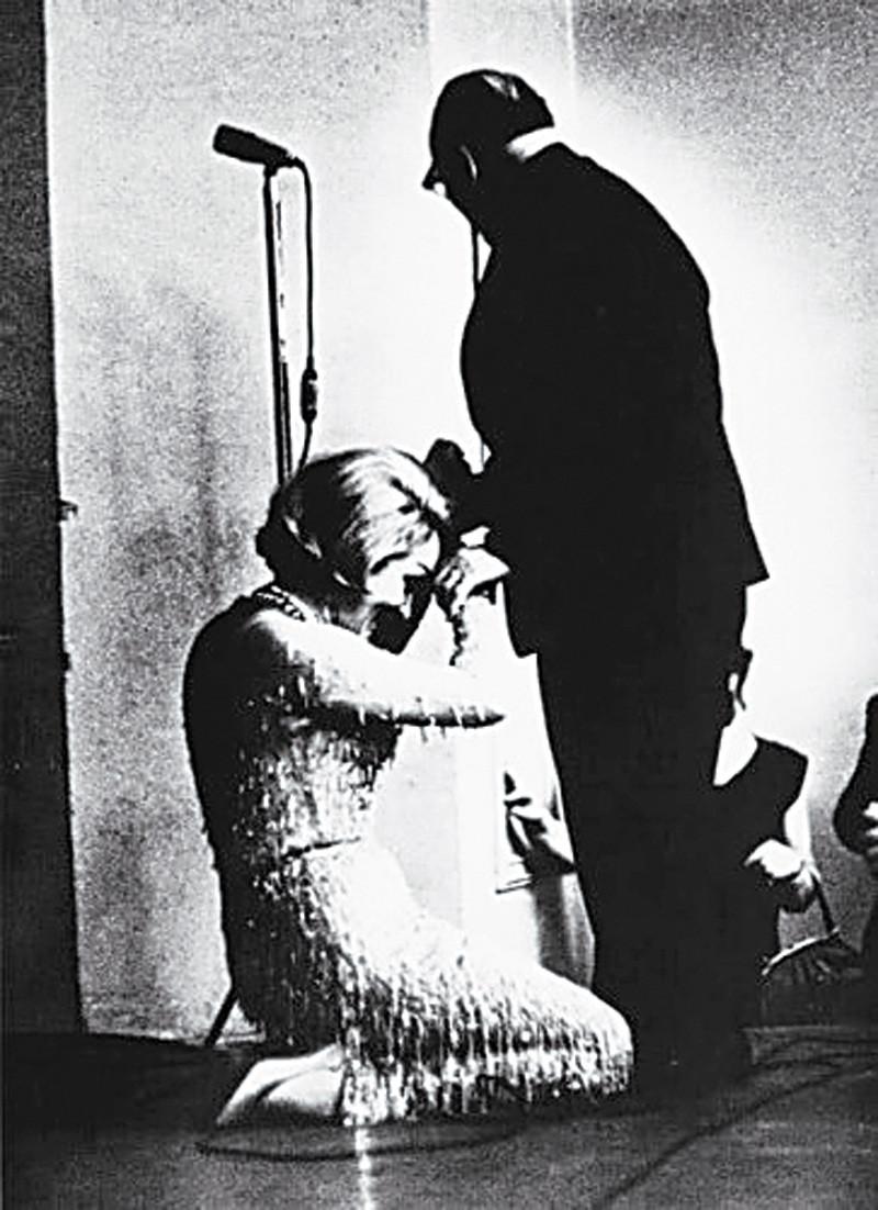 Паустовский и Марлен Дитрих