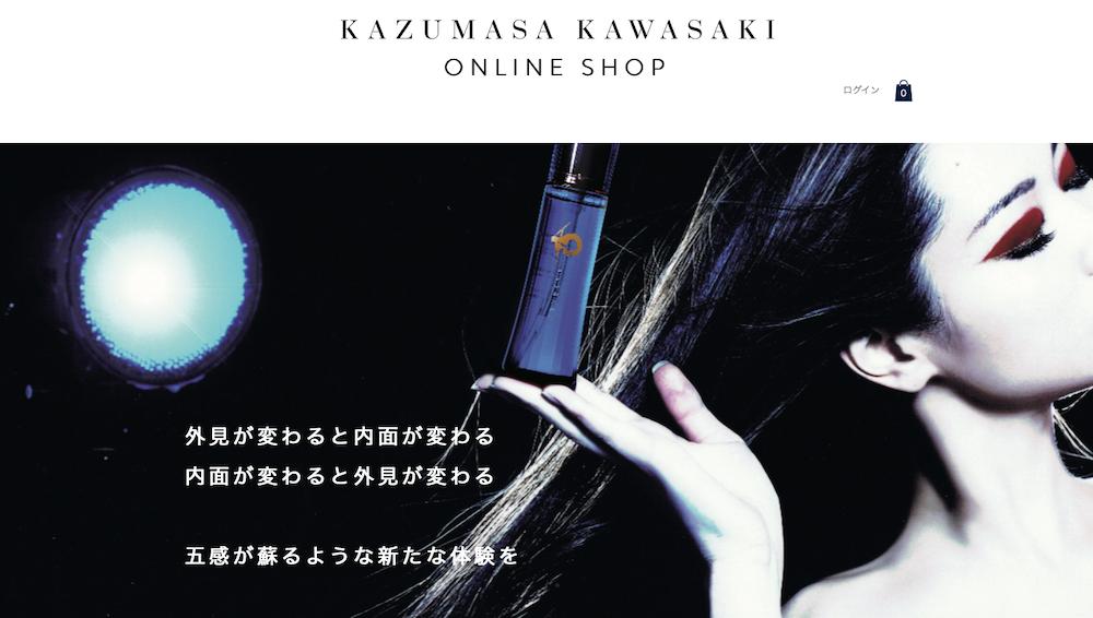 KAZUMASA KAWASAKI オンラインショップ