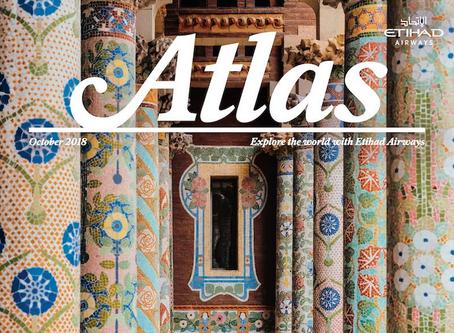 エティハド航空の機内誌「ATLAS」にKAZUMASA KAWASAKI製品が掲載