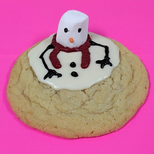 WAYLAND Melted Snowman Cookies