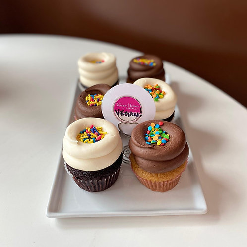WAYLAND Vegan Cupcakes (6)