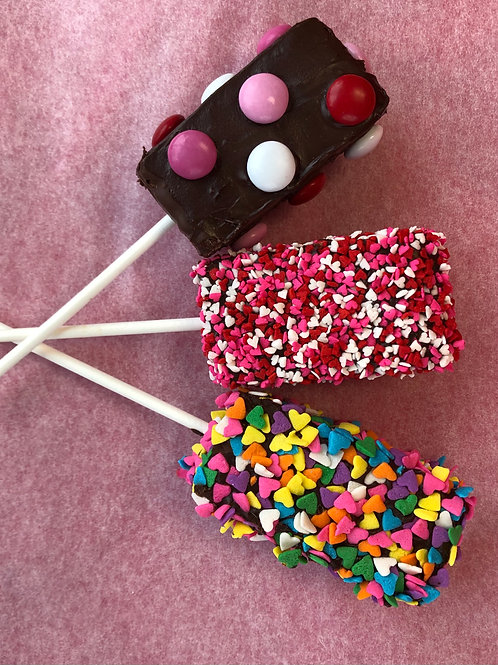 (3) Brownie Pops - Shipping Included