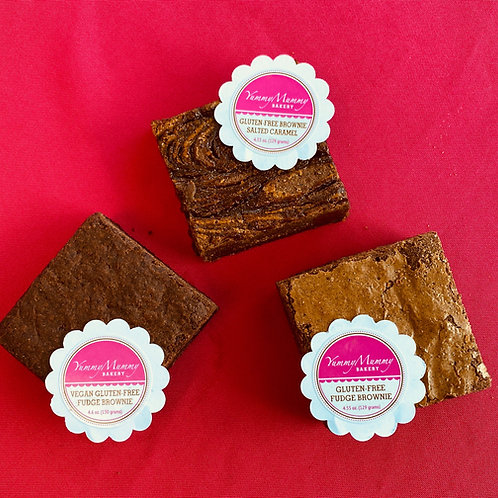 WAYLAND Vegan & Gluten Free Brownie Options