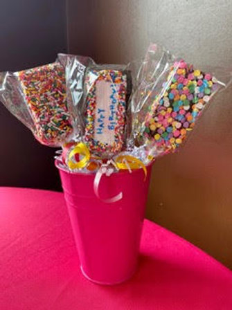 Celebration Brownie Pops (3) - Shipping Included