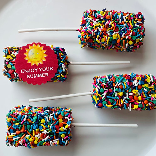 """""""Celebrate Summer"""" Brownie Pops (4) - Shipping Included"""
