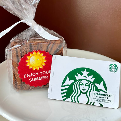 Teacher's Favorite Brownie & Coffee!