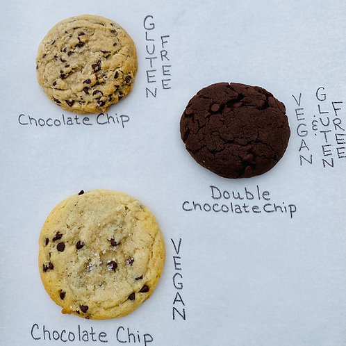 Vegan & Gluten Free Cookie Options